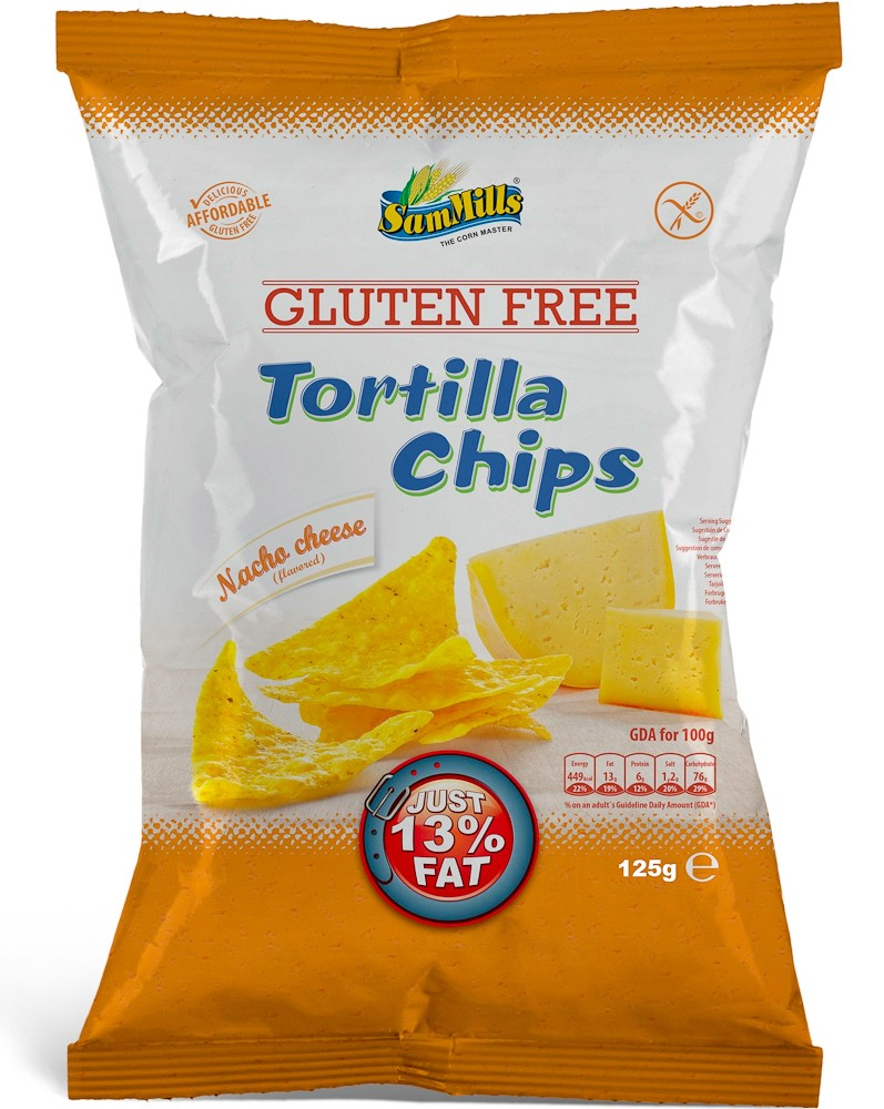 Tortilla chips nacha cheese