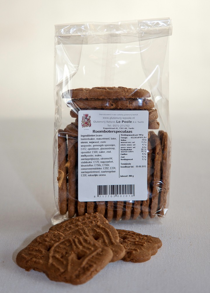 Roomboter Speculaas, le Poole