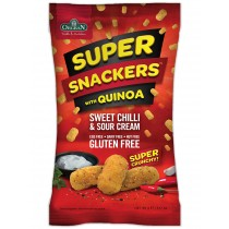 Super snackers Sweet Chilly met quinoa, Orgran, aanbieding
