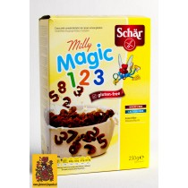 Milly Magic Pops, Knapperige cacao-cornflakes, Schär