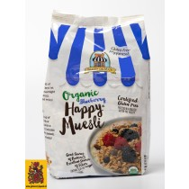 Bio Happy muesli bosbes, Bakery on Main, aanbieding tht 26/09/2017