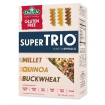 Super Trio pasta spiralen, Orgran