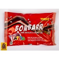 Mini's cocos bar met pure chocolade, Bonvita