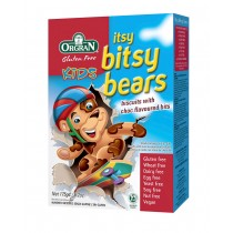 Itsy bitsy bears biscuits with choc flavoured bits
