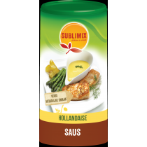 Hollandaise saus 215 gram, Sublimix , aanbieding tht 10/07/19