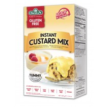 Instant custard mix, Orgran