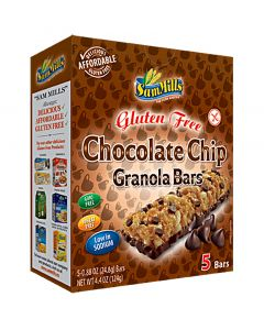 Chocolate Chip granola bars, Emco, aanbieding tht 03/04/2020