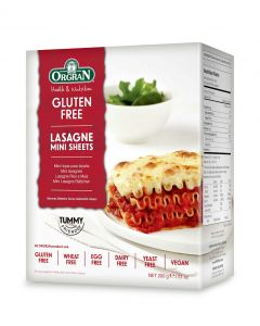 Rijst/mais lasagne mini sheets, Orgran ,