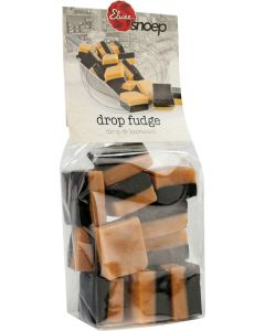 Drop fudge met drop en karamel, Elvee,
