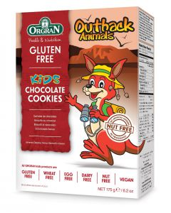 Outback Animals Chocolade Koekje, Orgran,